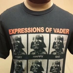 Other - Star Wars Expressions of Vader T-Shirt